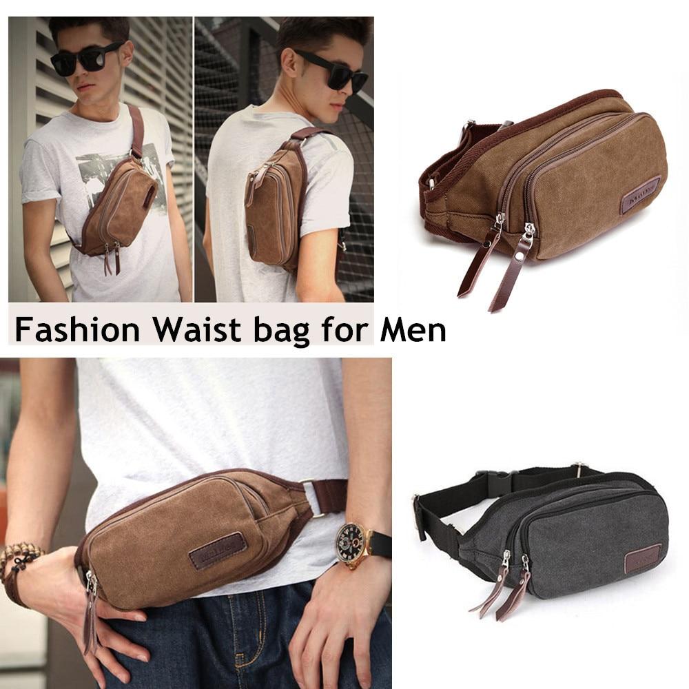 Summer Brand Canvas Waist Pack Women Men Pouch Bag Money Belt Running Pochete Sport Utility Bolsa Cintura In Packs From Luggage