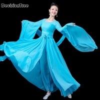 2019 summer wholesale chinese folk dance national dance costume brocade women's classical hanfu costume cosplay clothing