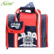 a5b7869399 Saim 2019 Dog Carrier Bags Portable Pet Backpack Messenger Cat Carrier  Outgoing Small Dog Travel Bag