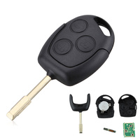 Car 3 Button Remote Entry Key 433 MHZ FOB For FORD MONDEO FIESTA FOCUS KA TRANSIT