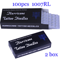 Disposable Tattoo Needles  7RL 100pcs/lot  Disposable Sterile Tattoo Needles 7 Round Liner Supply