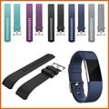 10 unids/lote Nuevo Deporte Banda de Silicona para Fitbit Cargo 2 bandas correa de pulsera inteligente para Cargo2