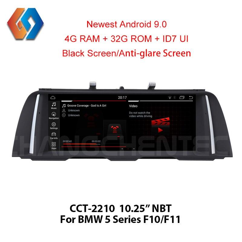1 Din Android 9.0 pour BMW série 5 F10 F11 2013-2016 NBT écran tactile stéréo voiture multimédia GPS Navigation BT Radio WiFi unité 10