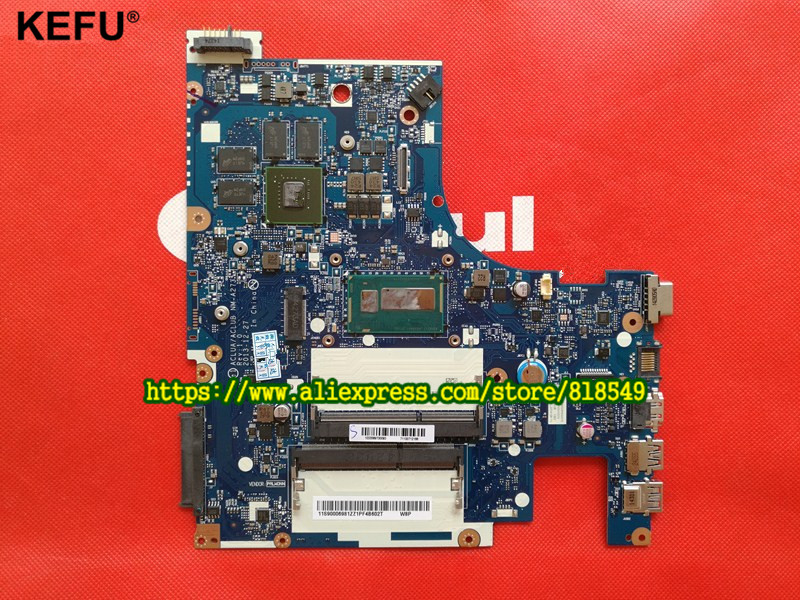 Laptop <font><b>motherboard</b></font> Fit For <font><b>Lenovo</b></font> <font><b>Z50</b></font>-<font><b>70</b></font> Notebook PC Main Board ACLUA/ACLUB NM-A273 Rev1.0 with graphics card , I3 Processor image