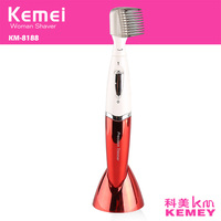 Kemei KM 8188 Waterproof Battery Lady Shaver Hair Removal Depilator Eyebrow Ttrimmer Precision Trimmer For Personal