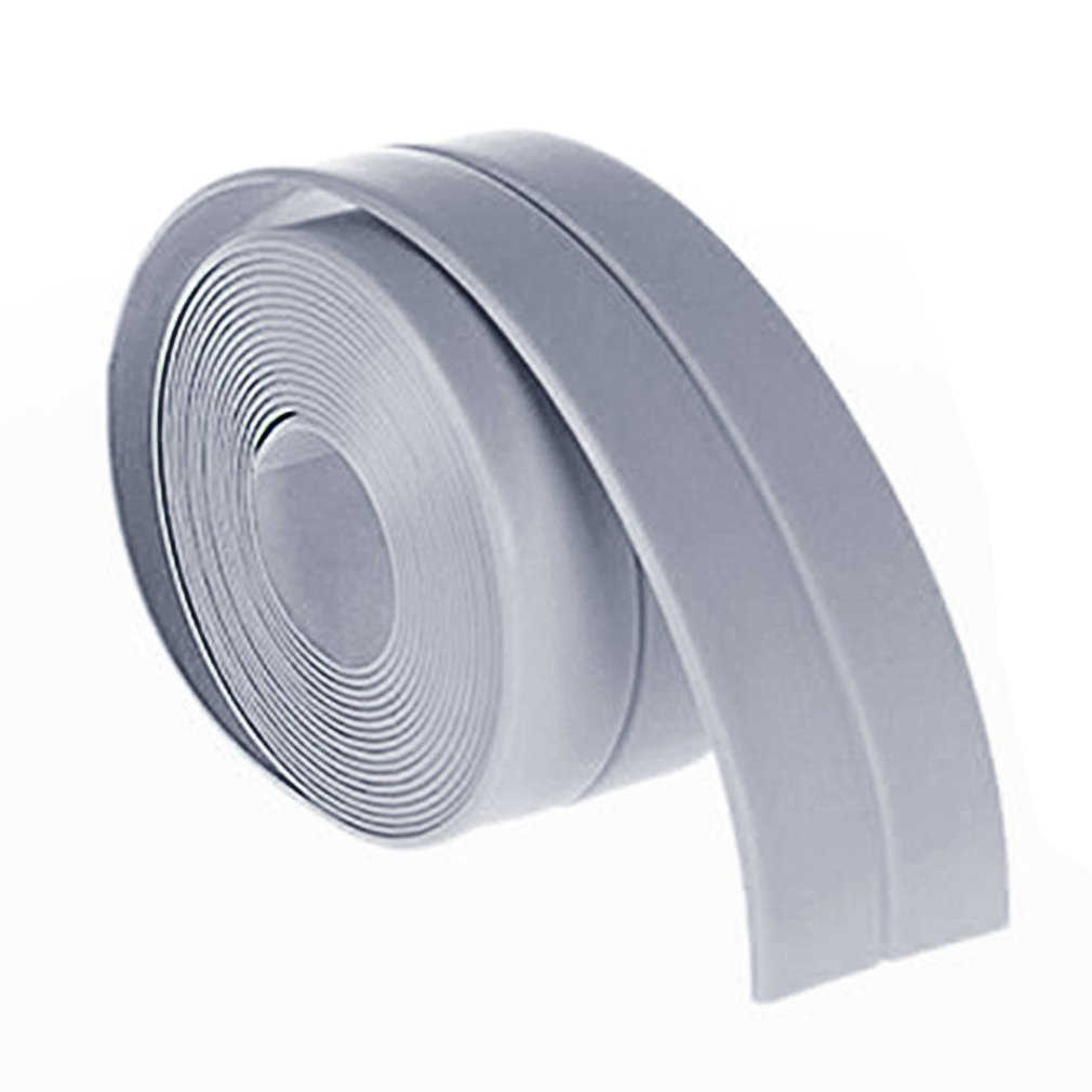 38mm*3.2M Waterproof Home Kitchen Bathroom Bathtub Wall Sealing Tape Strips Mildew Resistant Self Adhesive Tape For Sink Basin