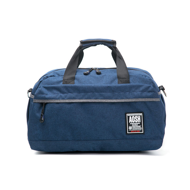Flax Cotton Small Size Gym Bag For Men And Women Fitness Training Sports Handbag Solid Color Travel Shoulder Bag