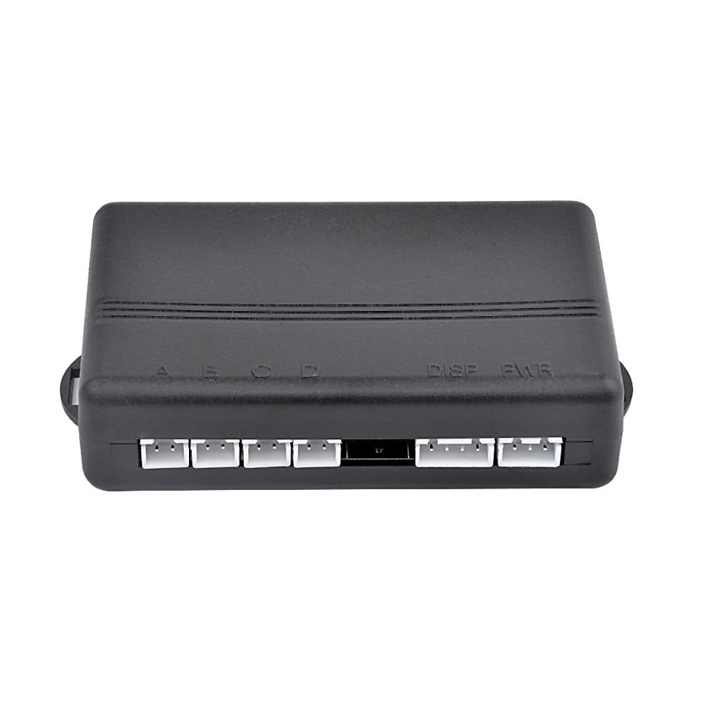AOSHIKE Car Auto Parktronic LED Parking Sensor with 4 Sensors Reverse Backup Car Parking Radar Monitor Detector System Display 2