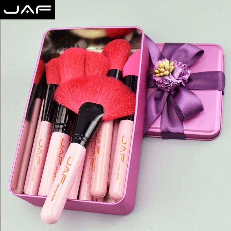 32 pièces rose maquillage brosse ensemble laine dans cadeau-boîte emballage visage yeux fard à paupières cadeau d'anniversaire OA66