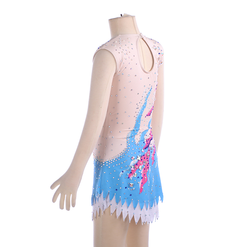 Nasinaya Rhythmic Gymnast Performance Figure Skating Dress Customized Competition Ice Skating Skirt for Girl Women Kids Patinaje in Gymnastics from Sports Entertainment