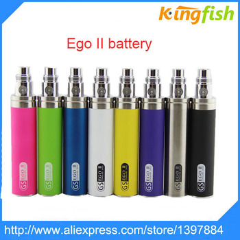 50pcs GS eGo II Battery 2200mah E Cigarettes Updated EGO I Week Battery For 510 CE4  Atomizer GS Ego 2 Battery high quality kevlar drive belts 5tl e7641 01 for yamaha ego ego s nouvo nouvo s