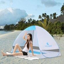 Balıkçılık Barınak Çadırları Hızlı Otomatik Açılış Yaz Plaj Çadır UV Koruma Balıkçılık Çadır