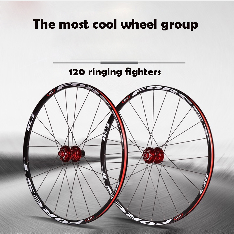 High quality 26 27.5 Inch Mountain Wheel Group 120 Ring 5 Peilin Wheel Group Bike Disc Brake Ultra Light Wheel Group high quality odm 96teeth xh timing wheel