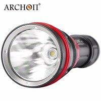 Новый ARCHON DY01 1000 люмен 6500 К CREE XP L светодиодный фонарик Дайвинг фонарик с 100 м по 26650 Батарея и Зарядное устройство