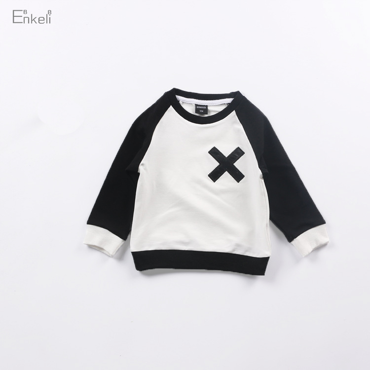 Enkelibb Sweatshirt KIKIKIDS Tops Girls Full-Sleeve Autumn Boys Fashion Children European