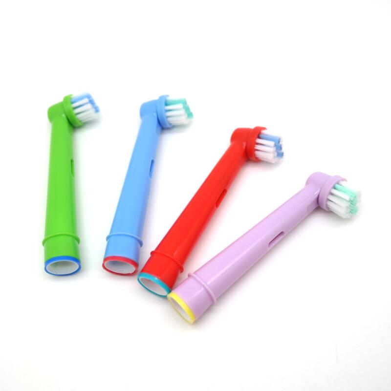 Image 5 - Replacement Kids Children Tooth Brush Heads For Oral B EB 10A Pro Health Stages Electric Toothbrush Oral Care(4 pcs)-in Electric Toothbrushes from Home Appliances