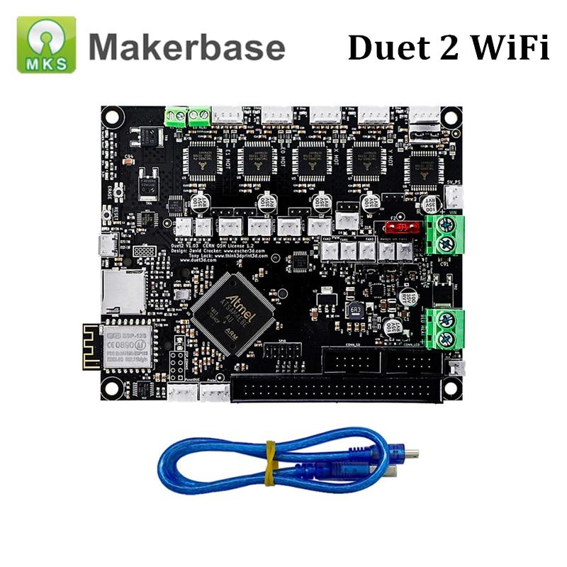 Duet 2 carte mère Wifi cloné Duet Wifi carte électronique 32Bit avancée pour Duet3D contrôle CNC pièces d'impression