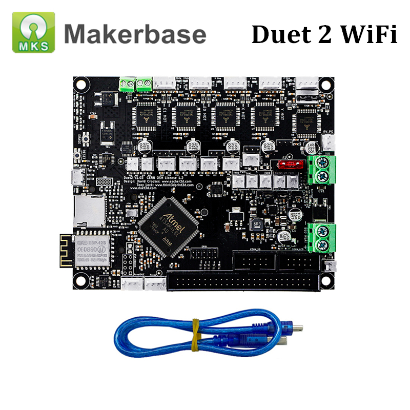 New Arrival Duet 2 Wifi Motherboard Cloned Duet Wifi Advanced 32Bit Electronic Board for Duet3D Control CNC Priner PartsNew Arrival Duet 2 Wifi Motherboard Cloned Duet Wifi Advanced 32Bit Electronic Board for Duet3D Control CNC Priner Parts