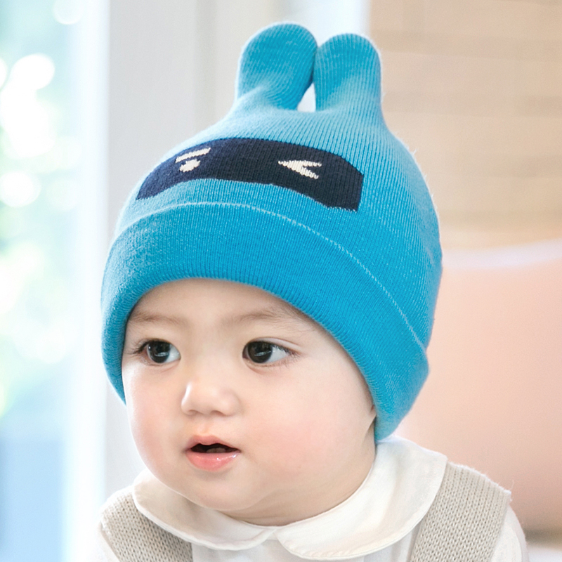 Cieik Baby Hat Fotografie Newborn Photo Props Soft Winter Wool Kids Caps  Boys Girls beanie Rabbit Cut Infant Muts-in Hats   Caps from Mother   Kids  on ... a38bff5e5e7d