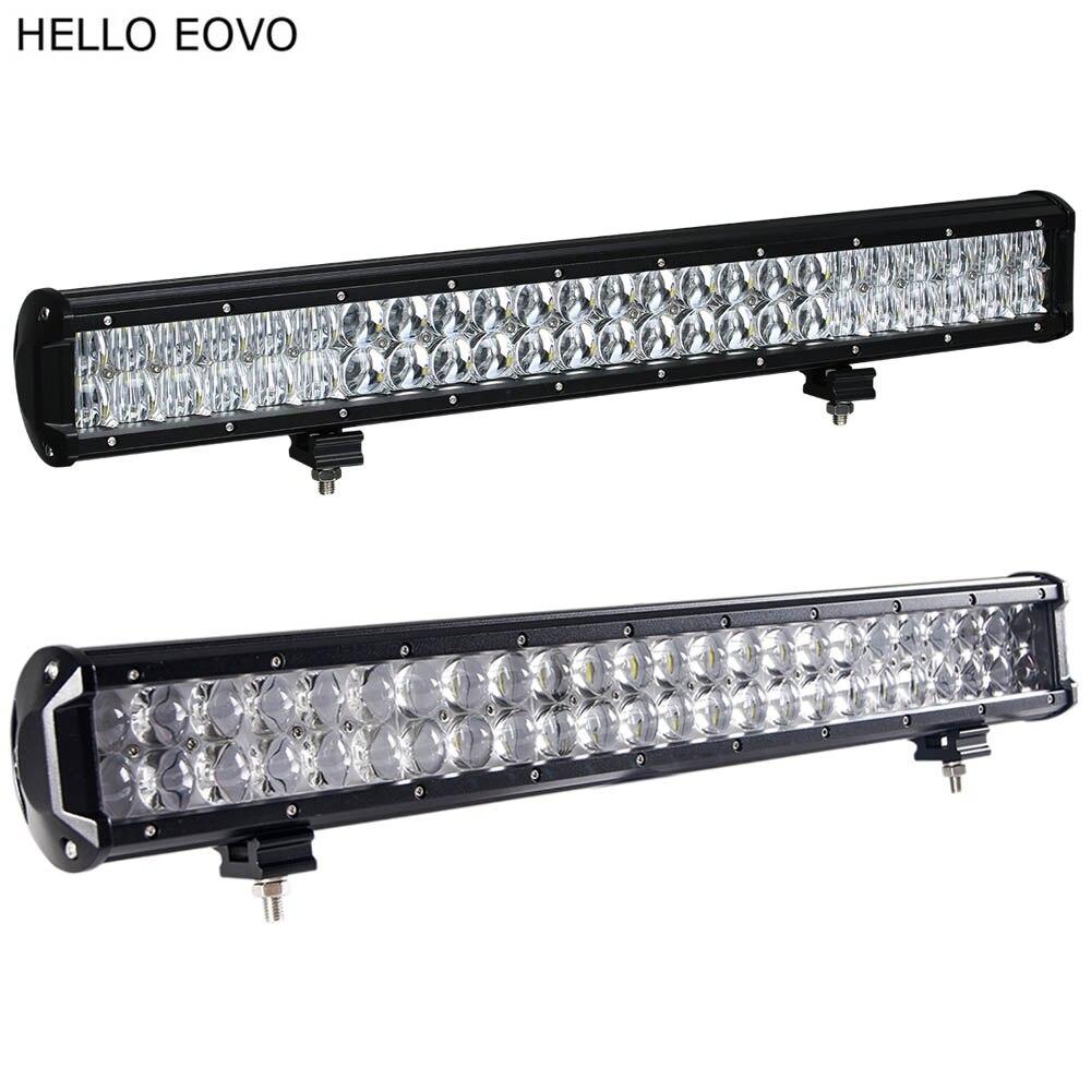 Привет EOVO 22 дюйма 240w 4Д 5Д светодиодные бар для индикаторы работы вождения для бездорожья лодка автомобиля Трактор грузовик 4x4 внедорожник квадроциклов