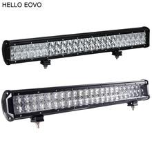 Hello eovo 22 дюймов 240 Вт 4D 5D светодиодные панели для работы индикаторы для вождения Offroad Лодка автомобиль тягач 4×4 внедорожник ATV