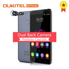 "Oukitel U20 Plus 5.5 ""teléfono inteligente 2G RAM + 16G ROM de Huellas Dactilares MTK6737T Quad Core de Doble Cámara de 13MP 3300 mAh Android 6.0 Móvil teléfono"