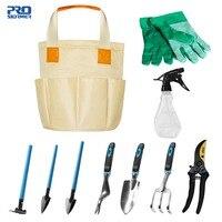 Prostormer 10 Piece Garden And Garden Tool Set Gardening Kits With Gloves Gardening Gifts Tool Set With Trowel Pruners