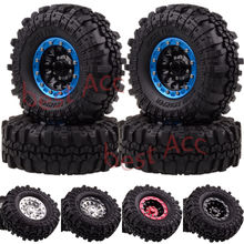 4PCS 1060-7035 1.9 Alloy Wheel Rim Lock Supper Swamper Rocks Tires RC Rock Crawler injora 4pcs wheel rim