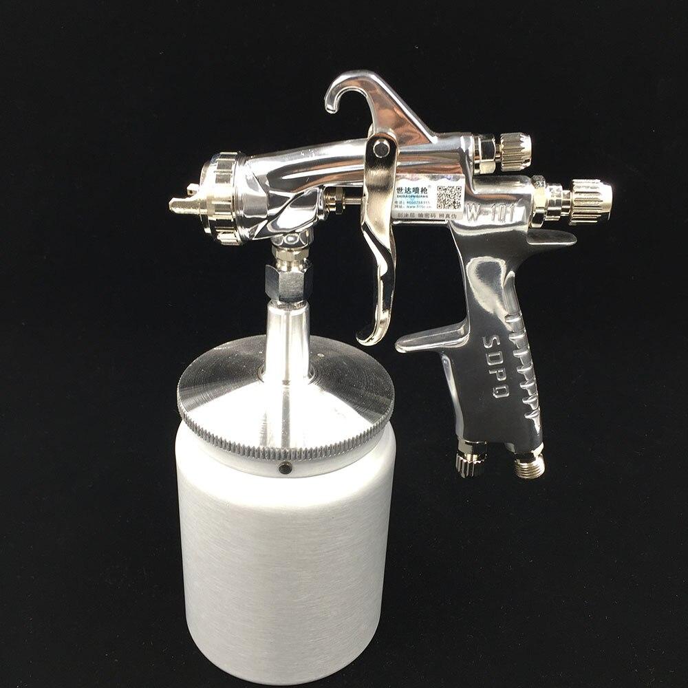 ФОТО W-101S car spray guns professional paint gun high quality pneumatic paint pressure pot