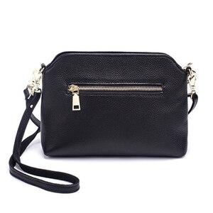 Image 3 - Роскошные сумки клатчи из натуральной кожи, женские сумки, модные сумки через плечо для женщин, сумка мессенджер, сумка тоут, кошелек