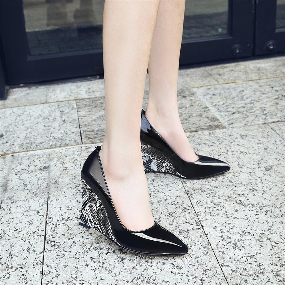 Pointu Sans Chaussures Femme Chaussure Noir Spéciale Ritrahini EH9D2I