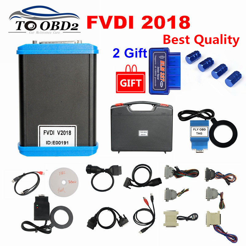 Newest FVDI 2018 Full Commander ABRITES 18 Software Works AVDI Software New VVDI2 Function Covers 2014 2015 2016 Function