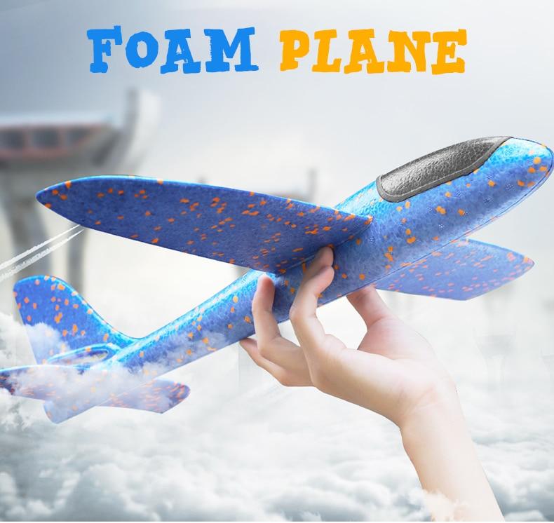 48 CM Hand Launch Airplane Glider 7