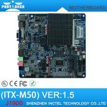 ITX-M50 VER:1.5 Fanless AIO motherboard intel J1900 Bay Trail quad core Mini Itx Motherboard wifi /3g /2*RS232 1*RTL 8111E