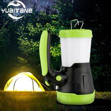 6000mAh USB Rechargeable LED Camping 30000Lumens Portable Spotlight Lantern Flashlight Power Bank Searchlight Outdoor Fishing(China)