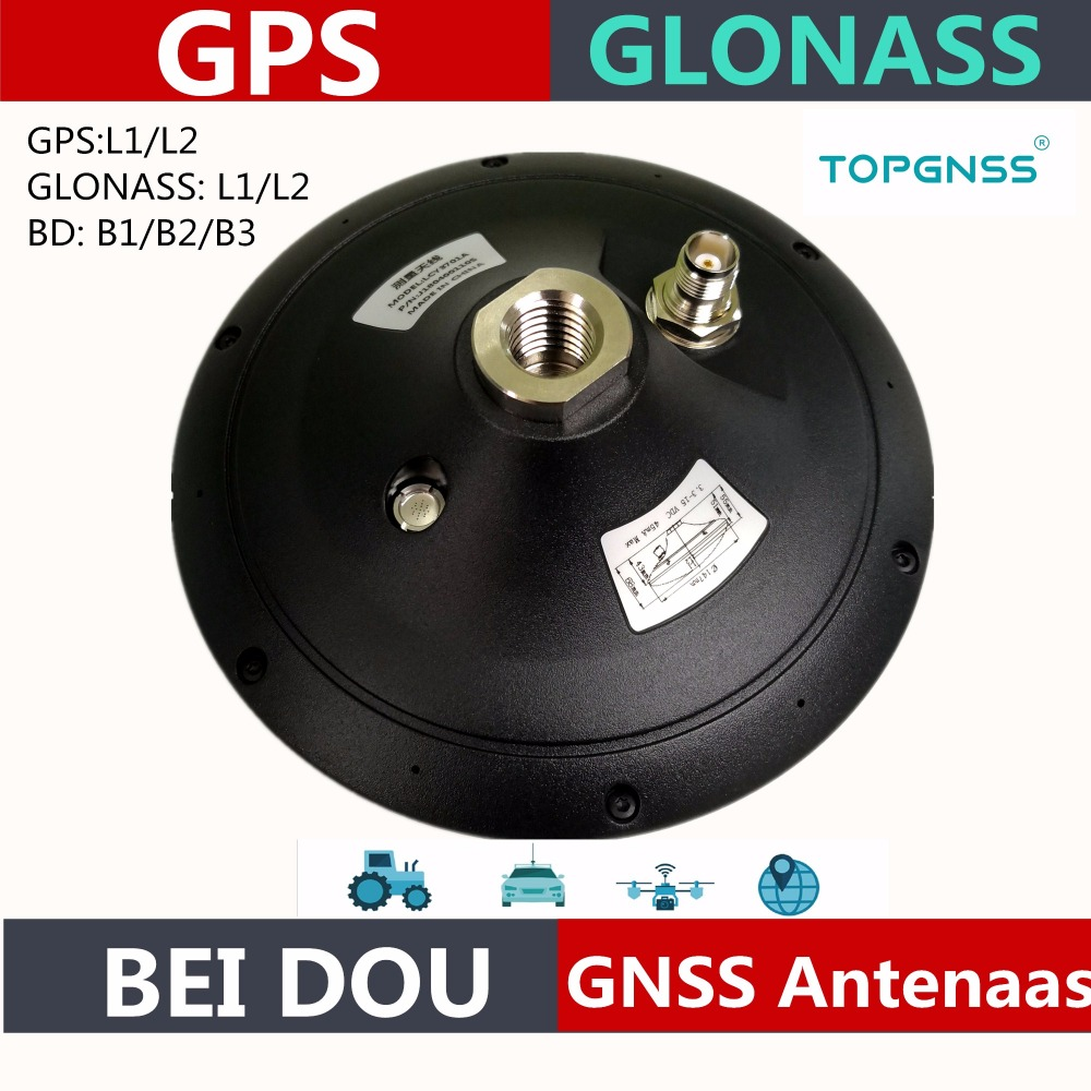 High quality GNSS RTK antenna GPS Glonass Beidou antenna,waterproof High-Precision survey CORS RTK receiver antenna,TOPGNSS high quality 10pcs spring antenna 433mhz antenna helical remote network accessories