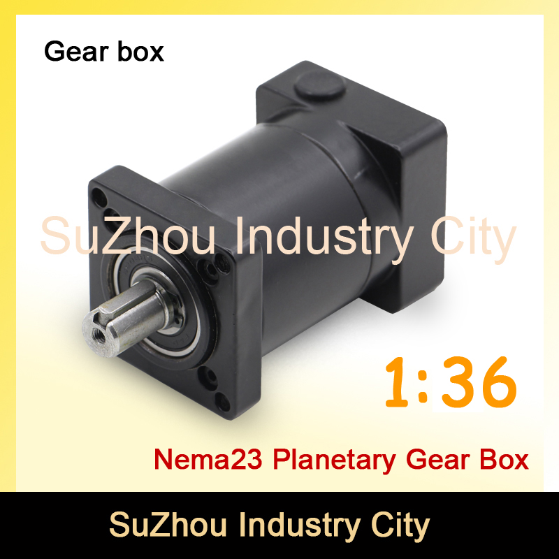 1:36 Nema23 stepper Motor Planetary Reduction Ratio 36:1 planet gearbox 57 motor speed reducer, High Torque high quality !! цена и фото