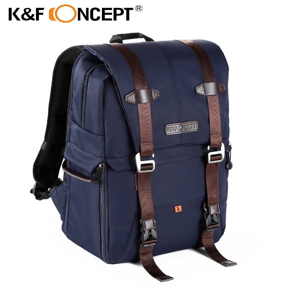 K&F CONCEPT Multi-functional DSLR Camera Backpack Video Photo Digital Shoulder Padded Bag Case Waterproof Shockproof for Canon sinpaid anti theft digital dslr photo padded camera backpack with rain cover waterproof laptop 15 6 soft bag video case 50