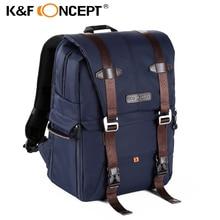 K&F CONCEPT Multi-functional DSLR Camera Backpack Video Photo Digital Shoulder Padded Bag Case Waterproof Shockproof for Canon