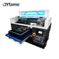 OYfame Автоматическая планшетная цифровой принтер для печати на футболке многоцветный планшетный принтер быстро Скорость с двойной печатающ...