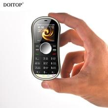 Doitop HiFi музыка MP3-плееры Непоседа гироскопа Spinner телефона Поддержка Dual SIM карты GPRS BT FM Радио ручной Spinner мобильный телефон MP3