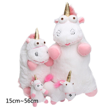 Soft Stuffed Animal Unicorn Plush Pillow Lovely Kids Baby Room Decoration Pillow Cartoon Comfort The Sleeping Baby Girl Cushion