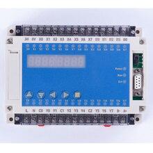 جهاز تحكم منطقي يبرمج تحكم plc ضميمة FX2N 20MR 0 10 فولت 4 AD 2 DA 12 في 8 خارج RTC LED تتابع تحكم أوتوماتيكي 220 فولت