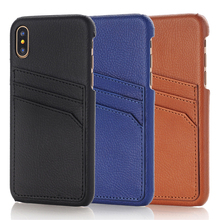 Retro Card Slot Leather Case For iPhone X Xs Max XR Shockproof Cover 8 7 Plus 6 6s Protective