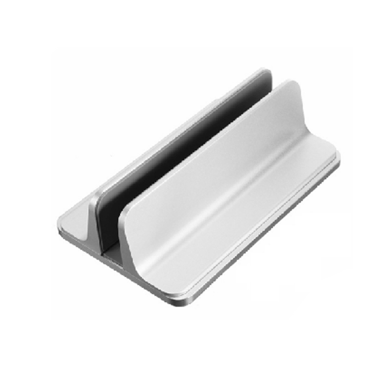 Vertical 2 In 1 Laptop / Tablet Adjustable Stand In Metal Desktop Notebook Erection Mount Holder Support For For Ipad Macbook