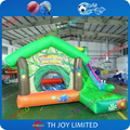 inflatable bouncer with safty net/cheap price inflatable bounce house