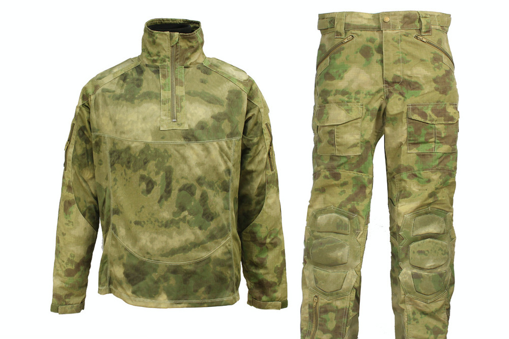 Tactical Military Special Force Combat Uniform A-TACS FG M,L,XL,XXL