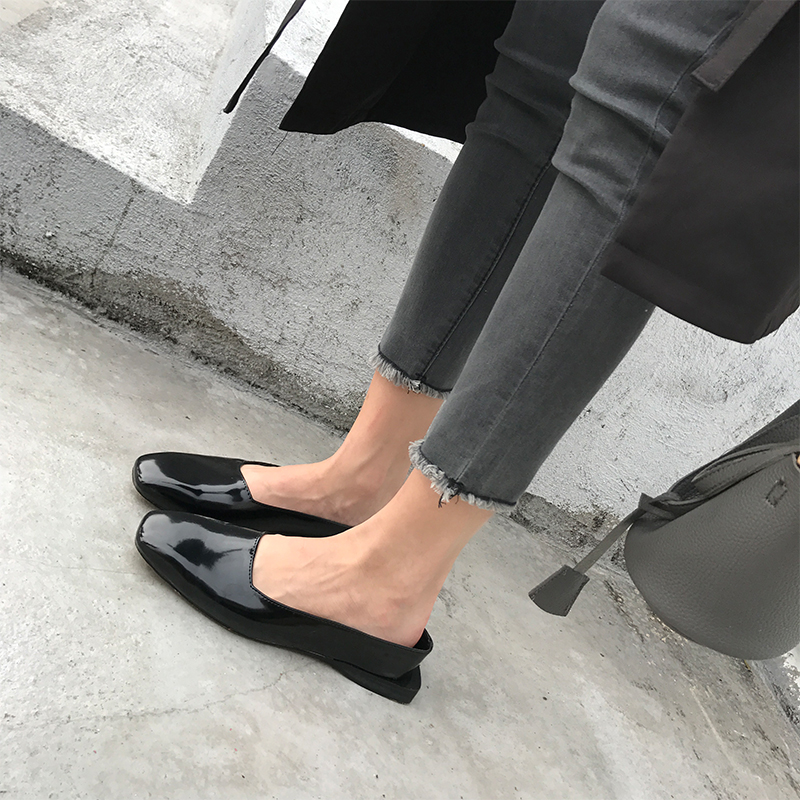 ФОТО High Quality Genuine Leather Flats Women Spring and Autumn Flat Heel Shoes Casual Women's Flats Brand Plus Size 39 Free Shipping