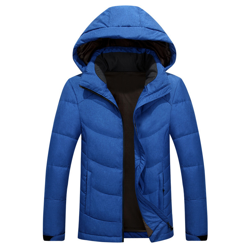 Warm Hooded Winter Jacket Men Clothing Parkas Thick Windproof Down Jackets Mens Coat Winter Jacket Goose Feather Winter Parka