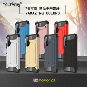 Image 2 - For Huawei Honor 20 Case Honor 20 Pro Nova 5T Case Armor Rubber Heavy Duty Cover For Huawei P Smart Z Case Huawei P Smart 2019
